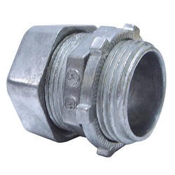 "1/2"" Compression Connector, 3/Bag"