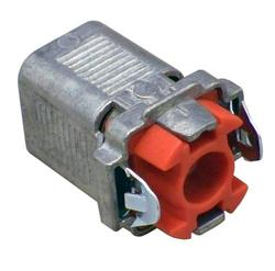 """3/8"""" DOUBLE SNAP LOCK® BX Connector, 2/Bag"""