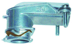 """3/8"""" SNAP LOCK® 90 Degree Angle Squeeze Connector"""