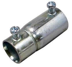 "3/4"" Galvanized Rigid Conduit to 3/4"" EMT Coupler"