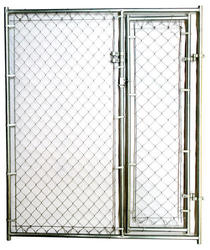 6' x 5'  Chain Link Kennel Gate