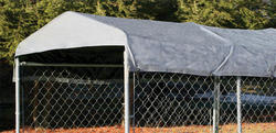 5' x 15' Kennel Cover