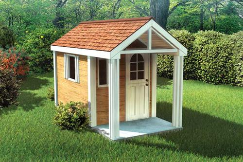 4 39 x 8 39 children 39 s playhouse building plans only at menards for Plans for childrens playhouse