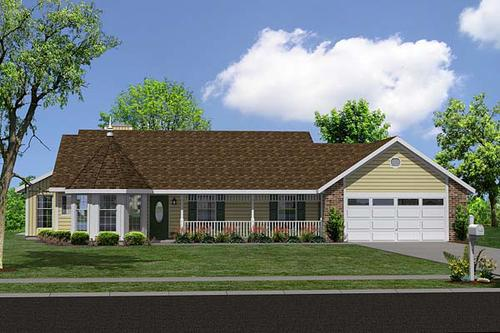 P 1444430961122 on Country Ranch Traditional House Plan 34043