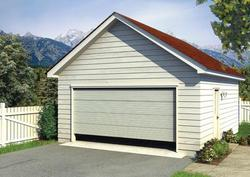 Two-Car Gable Garage - Building Plans Only