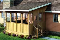 Three-Season Porch - Building Plans Only
