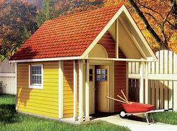 Fancy Storage Shed - Building Plans Only