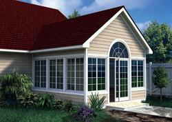 Gabled Sunroom Addition - Building Plans Only