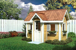 Traditional Children's Playhouse - Building Plans Only