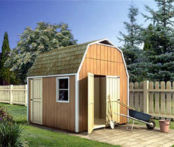 Gambrel Shed - Building Plans Only