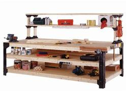 2x4basics® Workbench Legs and Shelf Links