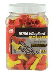 WingGard™ Twist On Wire Connectors Assortment (160/Jar)