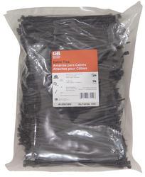 "8"" Black Cable Tie (1000/Bag)"