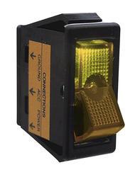 Amber Lighted Rocker Switch