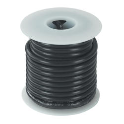 #12 Black Primary Wire (12 Feet)