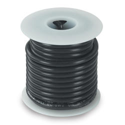 #14 Black Primary Wire (18 Feet)
