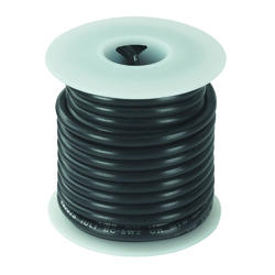 #16 Black Primary Wire (25 Feet)