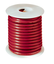 #14 Red Primary Wire (18 Feet)
