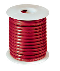 #16 Red Primary Wire (25 Feet)