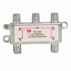 Splitter Satellite/Digital TV 5 MHz-2 GHz 4-Outlet Connector