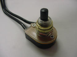 On-Off Black Rotary Switch (10/Box)
