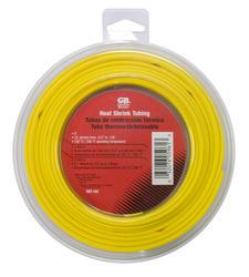 "5/16"" Yellow Heat Shrink Tube, 8 Foot Length"
