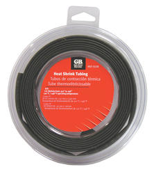 "5/16"" Black Heat Shrink Tube, 8 Foot Length"