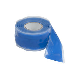 "1"" x 10' Blue Silicone Self-Sealing Tape"