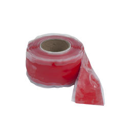 """1"""" x 10' Red Silicone Self-Sealing Tape"""