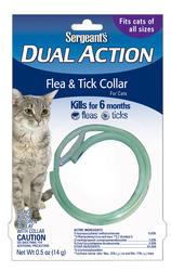 Sergeant's® Dual Action Flea and Tick Cat Collar