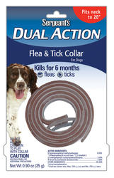 Sergeant's® Dual Action Flea and Tick Dog Collar