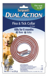 Sergeant's® Dual Action Flea and Tick Large Dog Collar