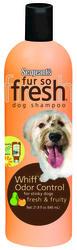 Sergeant's® Fur So Fresh® Whiff® Odor Control Dog Shampoo