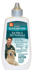 Sergeant's® Vetscription® Ear Mite and Tick Treatment for Dogs