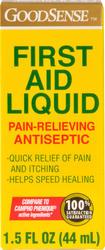 GoodSense® First Aid Liquid Pain-Relieving Antiseptic - 1.5 oz.