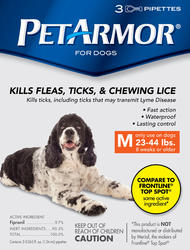 PetArmor® Flea and Tick Protection for Dogs 23-44 lb. - 3 ct.