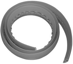 6' Gray Flexiduct Cord Cover