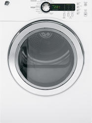 GE® 4.0 cu. ft. White Electric Dryer