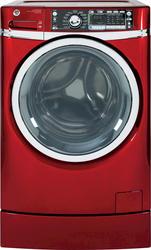 GE® 4.8 cu. ft. DOE ENERGY STAR Built-in Riser Front Load Washer