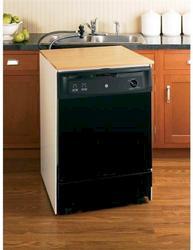"""GE® 25"""" Convertible/Portable Dishwasher"""