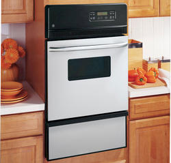 "GE® 24"" Gas Built-In Single 2.8 cu. ft. Wall Oven"