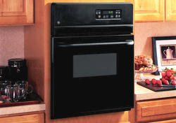 """GE® 24"""" Black Electric Built-In Standard Clean Single 2.7 cu. ft. Wall Oven"""