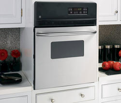 """GE® 24"""" Stainless Steel Electric Built-In Standard Clean Single 2.7 cu. ft. Wall Oven"""