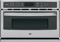 "GE® Profile 27"" Electric Built-In Advantium 1.7 cu. ft. Combo Wall Oven - 120 V"