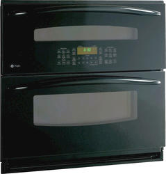 "GE® Profile 30"" Black Electric Built-In Double 5.0 cu. ft. Wall Convection Oven"