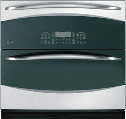 """GE® Profile 30"""" Stainless Steel Electric Built-In Double Convection 5.0 cu. ft. Wall Oven"""