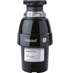 GE Disposal® 1/2 HP Deluxe Garbage Disposer