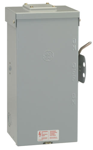 GE 100-Amp 240-Volt Outdoor Non-Fused Emergency Power Transfer Switch