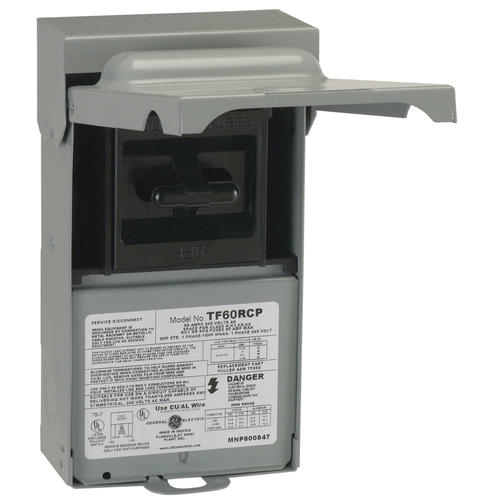 ge 30 amp outdoor fusible a  c disconnect at menards u00ae