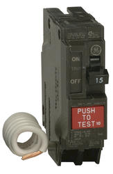 GE 15-Amp 1-Pole 120/240 Volt (GFCI) Ground Fault Circuit Breaker